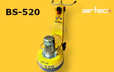 BS-520 Padlócsiszológép