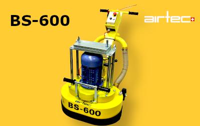 BS-600-EL Padlócsiszológép