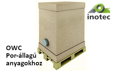 Egyirányú konténerrendszer(OWC) por-állagú anyagokhoz