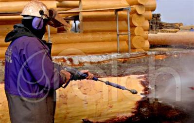 Fa felületek megtisztítása