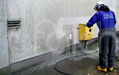 Homlokzat tisztítása
