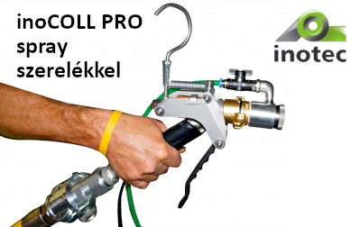 inoCOLL PRO spray szerelékkel
