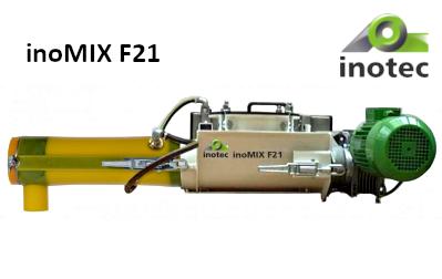 inoMIX F21 keverőgép silókhoz