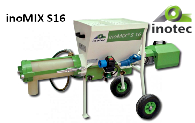 inoMIX S16 keverőgép