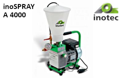 inoSPRAY A 4000 glettszóró (kompresszorMENTES)