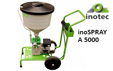 inoSPRAY A 5000 glettszóró (kompresszorMENTES)