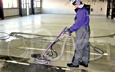 Ipari padló tisztítása