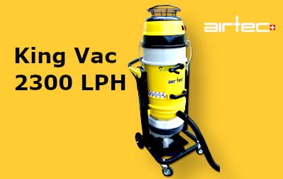 King Vac 2300-LPH Építkezésekre Tervezett Porszívó