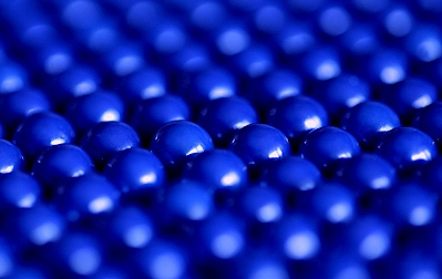 Műanyag és gumi golyók