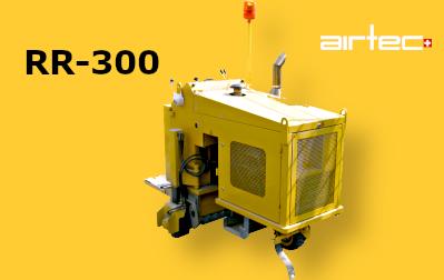 Roto-Runner 300 Elektromos vagy Diesel-es ipari marógép