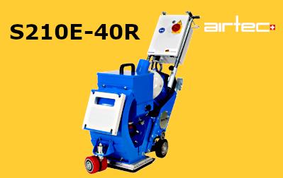 S210E-40R szemcseszórógép
