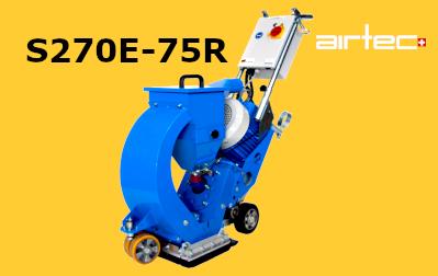 S270E-75R szemcseszórógép
