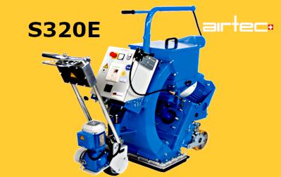 S320E szemcseszórógép