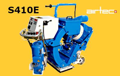 S410E szemcseszórógép