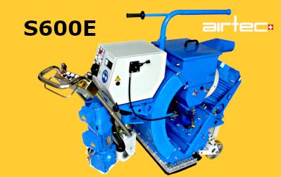 S600E szemcseszórógép
