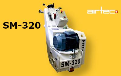 Shave Master SM-320 Elektromos Gyémánt-dobos betonborotva