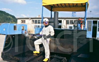 Útépítő gépek tisztítása